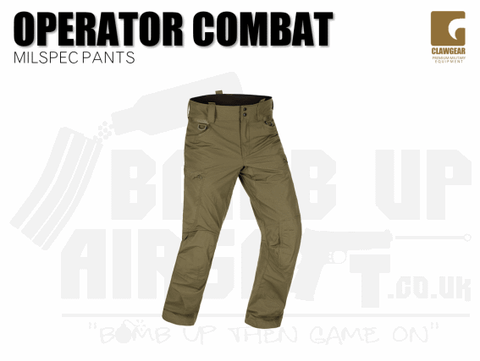 Clawgear Operator Combat Pant - RAL
