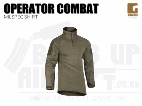 Clawgear Operator Combat Shirt - RAL