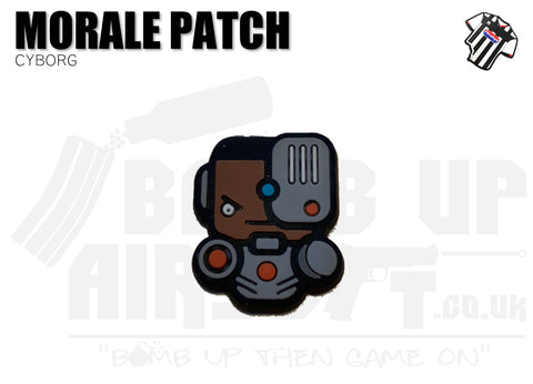 Cyborg Mini PVC Patch