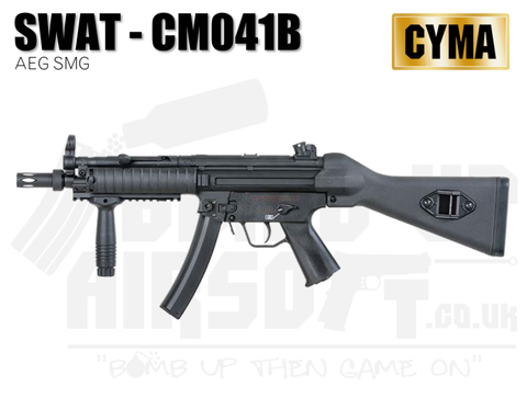 Cyma MP5 Full Stock Airsoft Rifle CM.041B