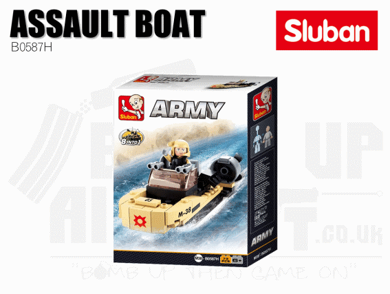 Sluban Bricks B0587H - Assault Boat