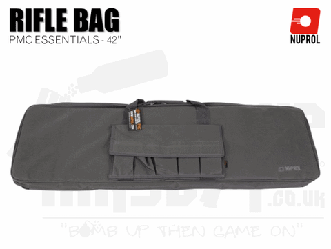 Grey weapon bag