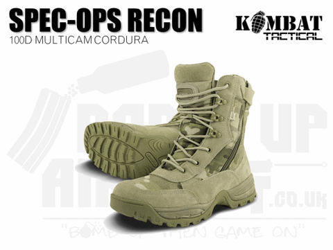 MULTICAM AIRSOFT BOOTS