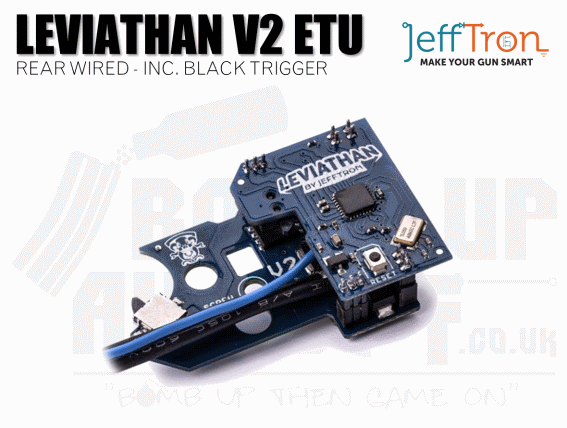 Jefftron Leviathan - V2 Rear Wired With Black Trigger