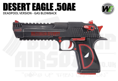 Cybergun WE Custom Desert Eagle 50AE - Deadpool