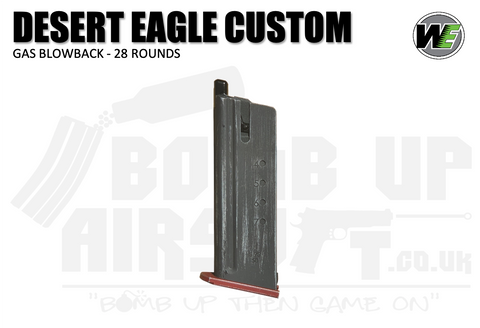Cybergun WE Custom Desert Eagle 50AE 28 Round GBB Mag