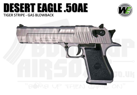 Cybergun WE Custom Desert Eagle 50AE - Tiger Stripe