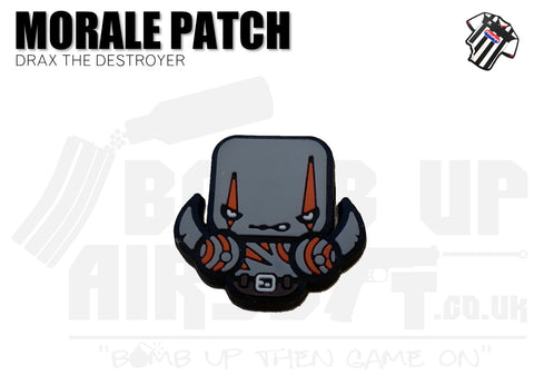 Drax The Destroyer Mini PVC Patch