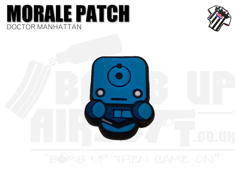 Doctor Manhattan Mini PVC Patch