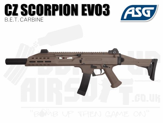 ASG Scorpion BET Tan