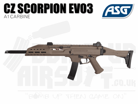 Scorpion Evo Carbine Tan