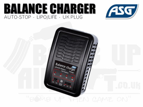 ASG AIRSOFT BATTERY CHARGER