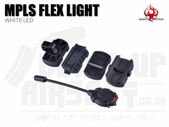 Night Evolution MPLS Flex Light - Black White light LED