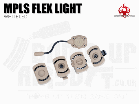 Night Evolution MPLS Flex Light - Dark Earth White Light LED