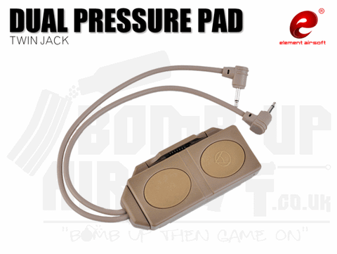 Element Dual Pressure Pad - Dark Earth
