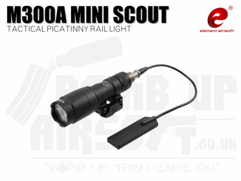 Element M300A Mini Scout Tactical Picatinny Rail Light