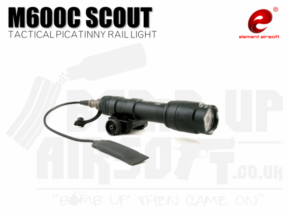 Element M600C Mini Scout Tactical Picatinny Rail Light