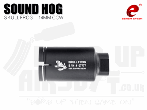 Element Skull Frog M4 Mini sound hog - Black (14mm CCW)