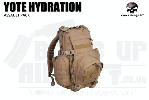 Emerson Gear Yote Hydration Pack - Tan
