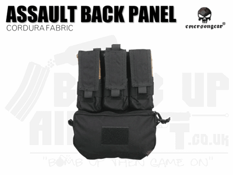 Emerson Gear Assault Back Panel - Black