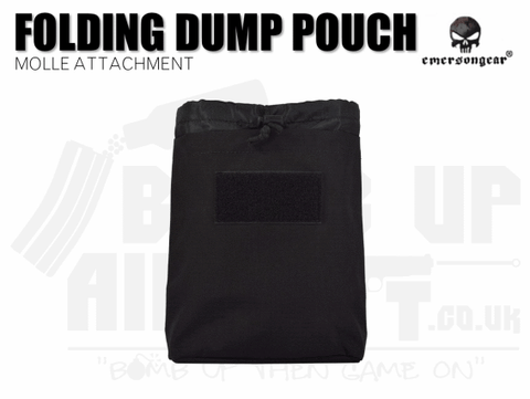 Emerson Gear Folding Dump Pouch - Black
