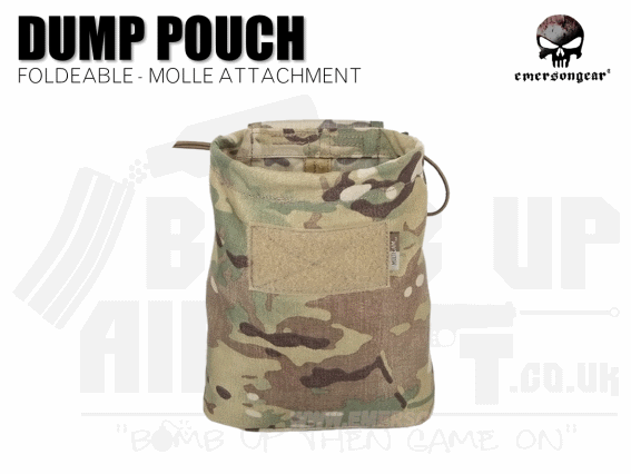 Emerson Gear Folding Dump Pouch MTP