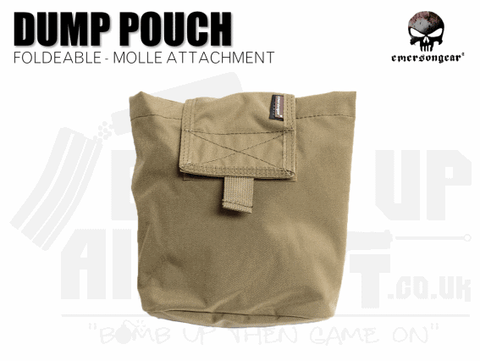 EMERSON GEAR FOLDING DUMP POUCH