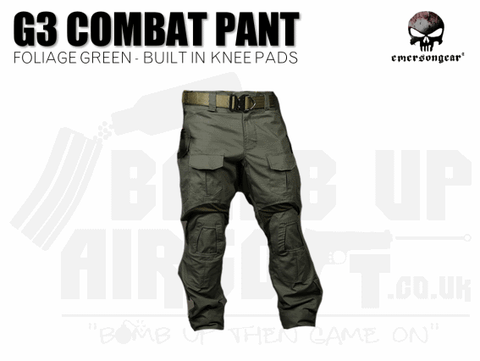 EMERSON G3 COMBAT PANTS FOLIAGE GREEN