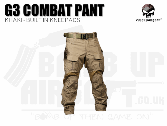 EMERSON G3 COMBAT TROUSERS TAN