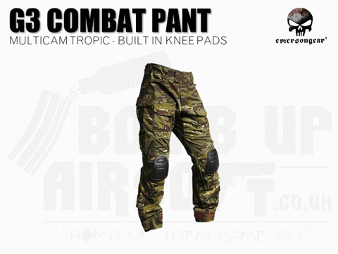 EMERSON G3 COMBAT TROUSERS MULTICAM TROPIC