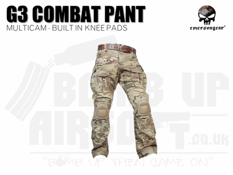 EMERSON G3 COMBAT PANTS MULTICAM