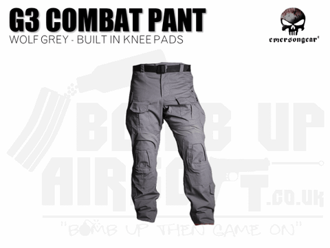 EMERSON COMBAT TROUSERS WOLF GREY