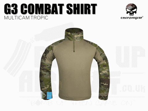 EMERSON G3 COMBAT SHIRT MULTICAM TROPIC