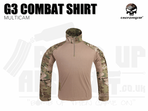 EMERSON G3 COMBAT SHIRT MULTICAM