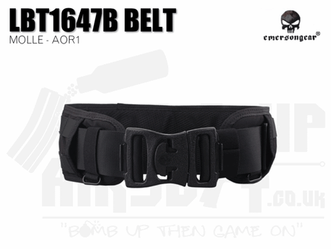 Emerson Gear LBT1647B Style Molle Belt - Black