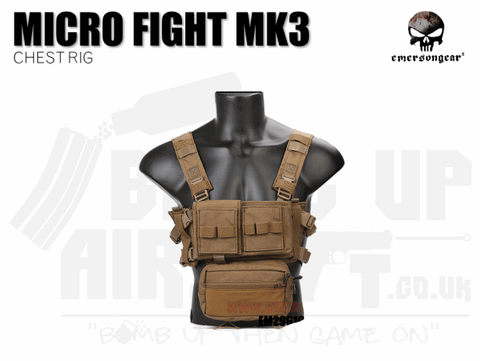 EMERSON MICRO FIGHT CHEST RIG MK3