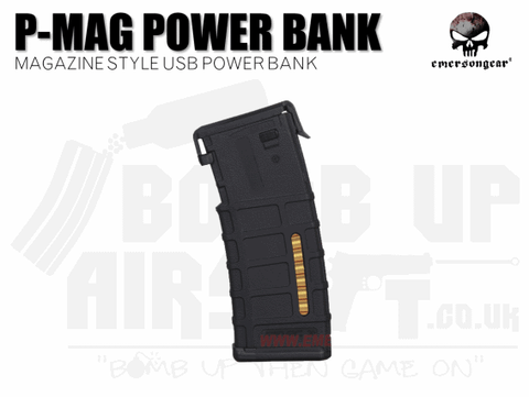 EMERSON P-MAG STYLE POWER BANK