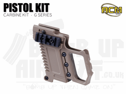 ACM Pistol Carbine Kit G17/G18/G19