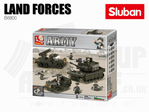 Sluban Bricks B6800 - Land Forces