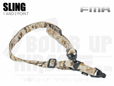 FMA MA3 One or Two Point Sling - AOR1