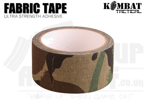 Kombat UK Fabric Tape - Woodland