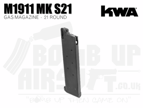 KWA 1911 MK Series 21rnd Gas Magazine