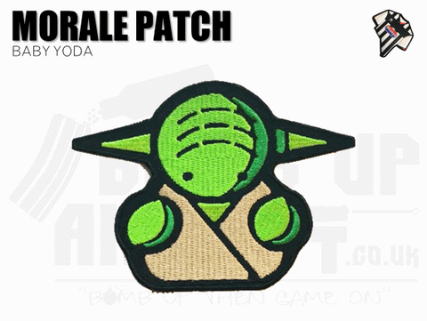 Baby Yoda Velcro Patch