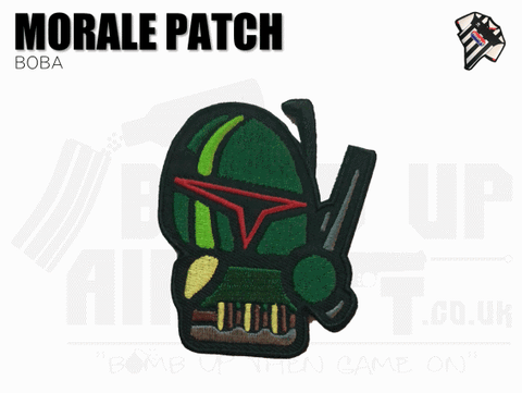 Boba Fett Velcro Backed Patch