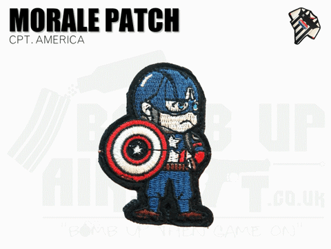 Captain America Velcro Patch