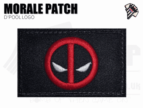 Deadpool Logo Patch