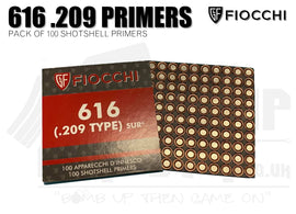 Fiocchi .209 Primers - Pack of 100