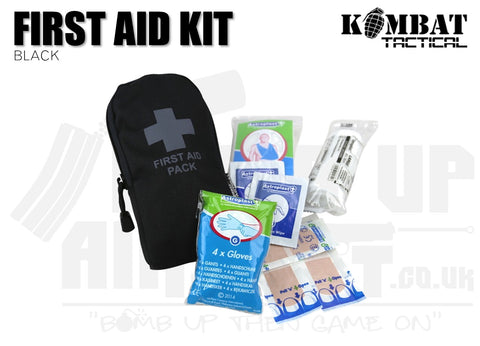 Kombat UK First Aid Kit - Black