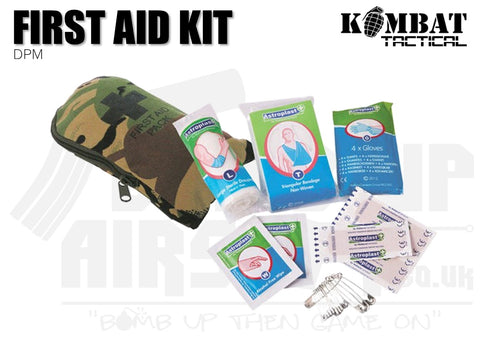 Kombat UK First Aid Kit - DPM