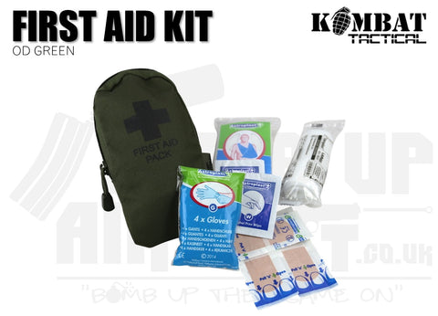 Kombat UK First Aid Kit - OD Green